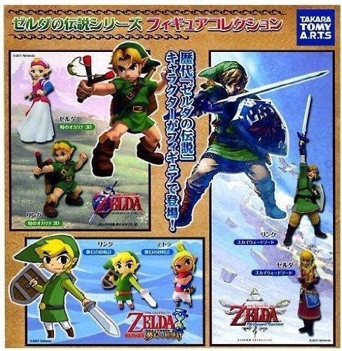 Imagen 1 de 1 de Obtén Una Colección De Figuras De La Leyenda De Zelda Con Un