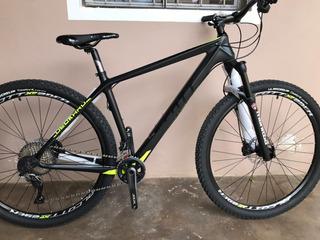 Bici Carbono Alcott Full Slx 2x11 Rod29 H. Manitou-michellin