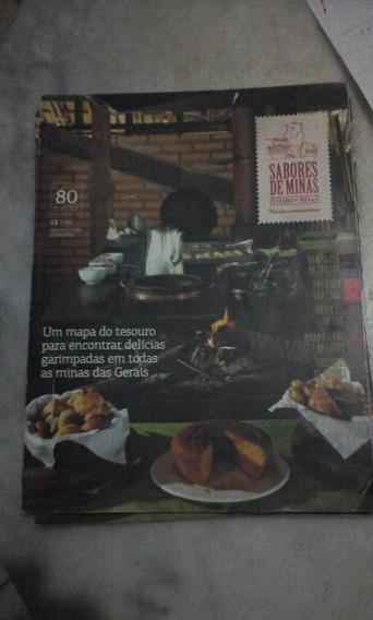 Revista Sabores De Minas Edição Comemorativa 80 Edições