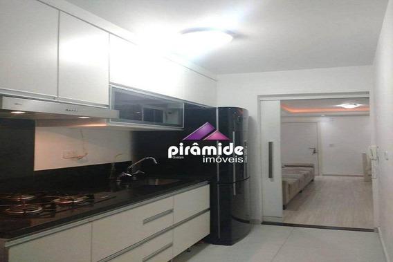 Apartamento Com 2 Dormitórios À Venda, 59 M² Por R$ 225.000,00 - Jardim América - São José Dos Campos/sp - Ap11530
