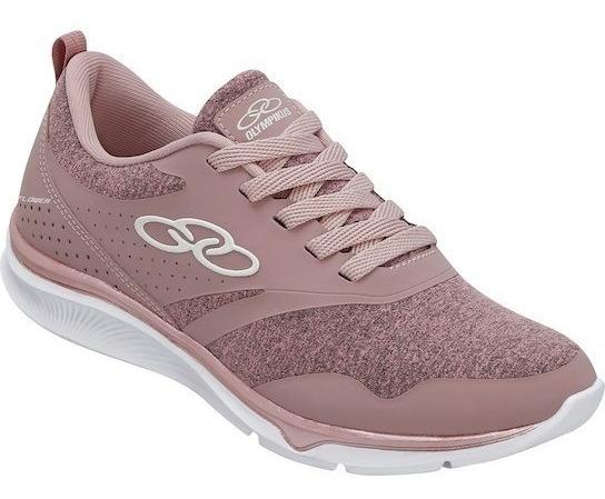 Tenis Feminino Caminhada Palmilha Feetpad Olympikus Flower