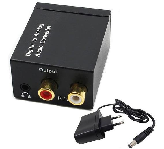 Conversor Óptico Coaxial Digital