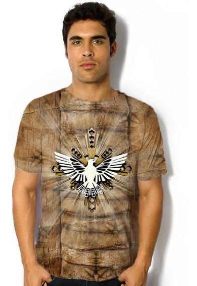 Blusa Camiseta Religioso Espirito Santo - Ref 025