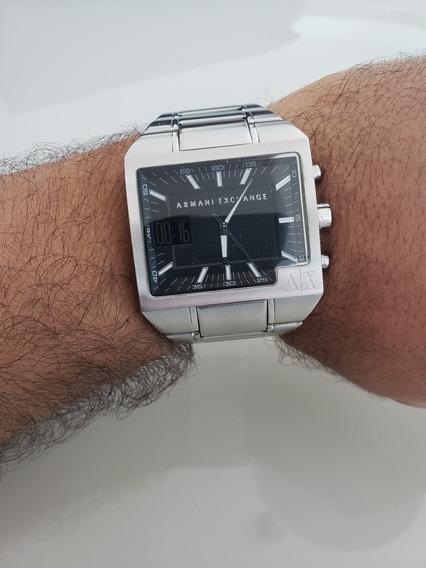 Relógio Armani Exchange Ax2087 Usado Em Bom Estado