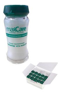 Ampollas Concentre Vita-keratin 12ml Maxcare 11032
