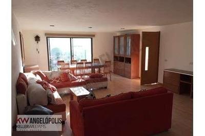Casa En Renta Junto A Lomas De Angelopolis Con Despacho Incluido