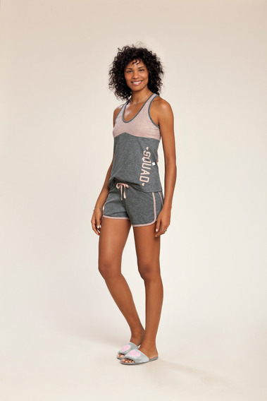 Pijama Regata Adulto Feminino Ref - 0131209