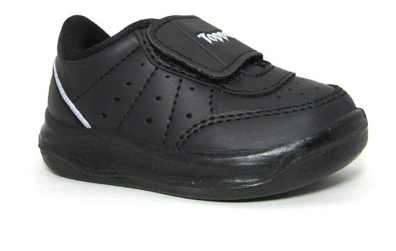 Zapatillas Topper Baby X Forcer Velcro Colegial Escolar