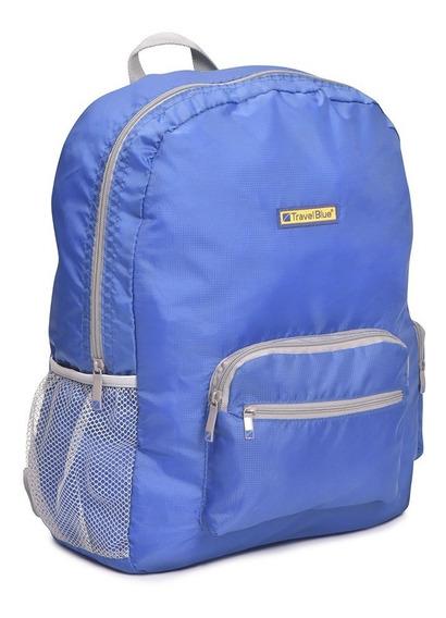 Mochila Plegable Grande 20 Litros Travel Blue Tb065