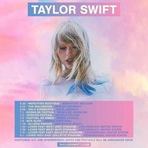 Ingresso Show Taylor Swift Sp Allianz Parque