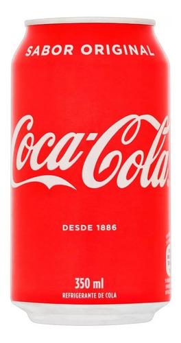 Imagem 1 de 1 de Refrigerante Coca-cola Lata - 350ml