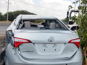 Toyota Corolla Le 2016 Venta Refacciones Por Partes
