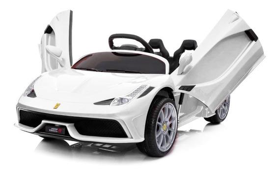 Auto A Bateria 12v Doble Asiento Control Remoto Mp3 Y Luces