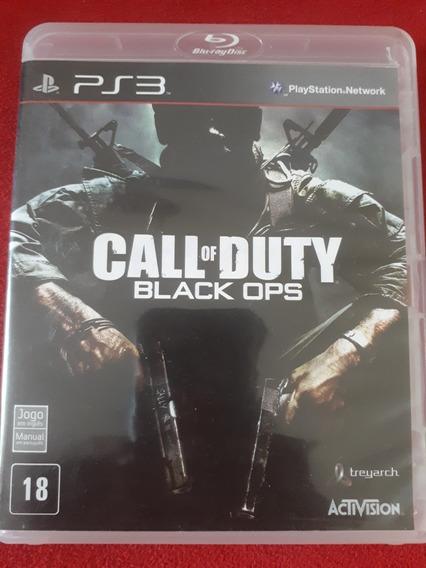Call Of Duty Black Ops Ps3 Seme Novo. Usado 2 Vezes