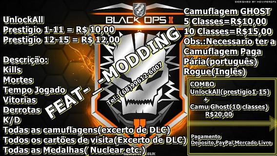 Unlockall Call Of Dutty Black Ops 2