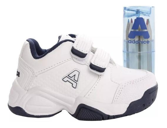 Zapatillas Addnice Baby Classic Beta Abrojo + Lapicero
