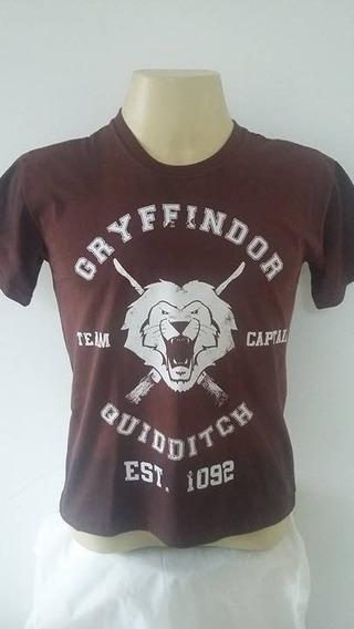 Camiseta P Grifinória Gryffindor Harry Potter