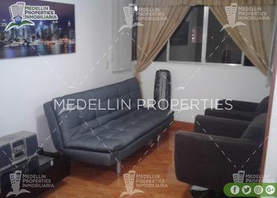 Apartamentos Amoblados Baratos En Medellín Cód: 4151