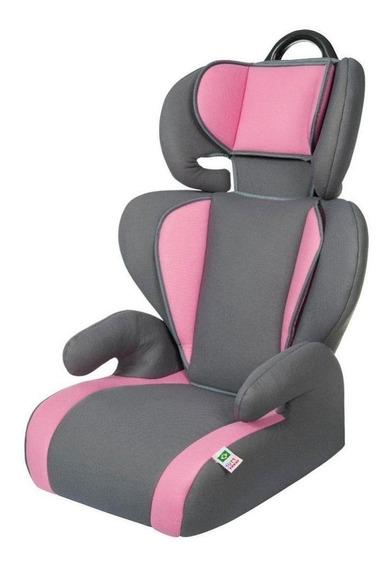 Cadeira para carro Tutti Baby Cadeira Safety & Comfort Cinza/Rosa