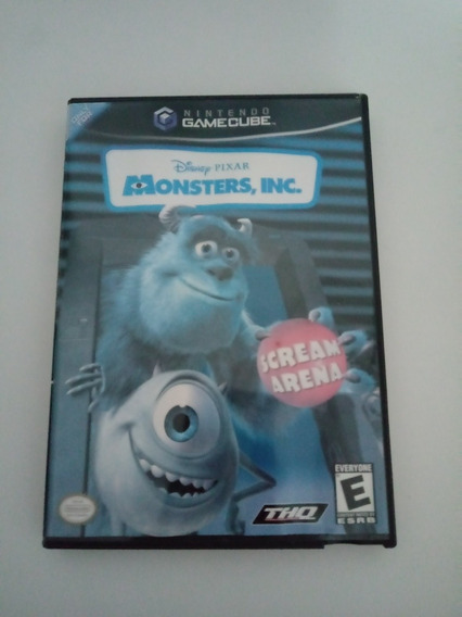 Jogo Monsters,inc. (gamecube)