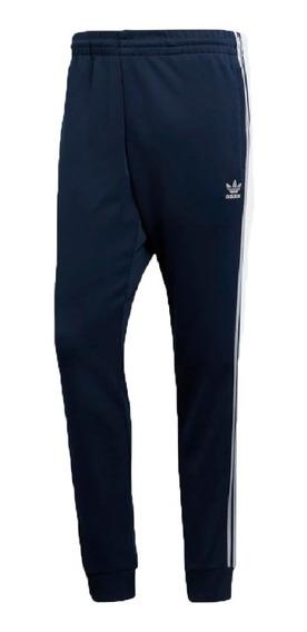 adidas Originals Pantalón Lifestyle Hombre Sst Azul Fuk