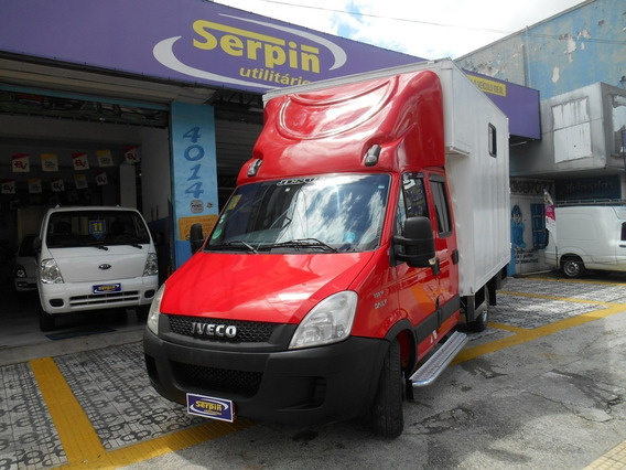 Iveco Daily 35s14 Cabine Dupla Bau 2013