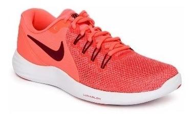 Tênis Nike Wmns Lunar Apparent Laranja Neom - 908998