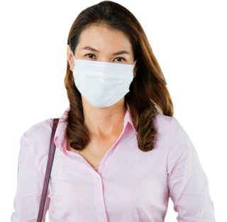 Máscara De Tecido Duplo Malha 100% Algodão Reutilizável 3uni