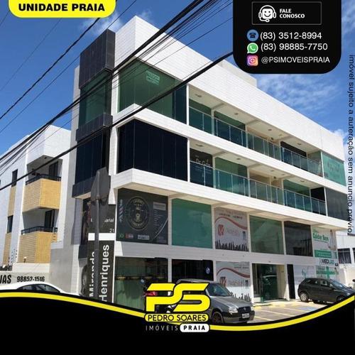Imagem 1 de 1 de Sala Para Alugar, 37 M² Por R$ 1.200/mês - Bessa - João Pessoa/pb - Sa0265
