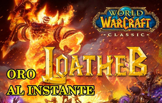 Wow Classic 100 Gold/oro Server Loatheb Alianza