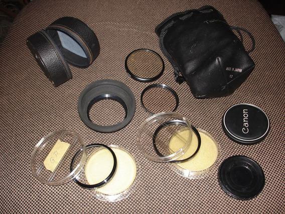 Lote Acessorios Maquina Fotografica Canon