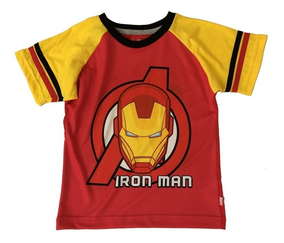 Playeras Iron Man Marvel Official