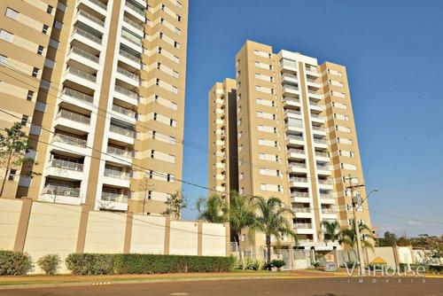 Imagem 1 de 23 de Apartamento Com 3 Dormitórios À Venda, 111 M² Por R$ 630.000,00 - Jardim Nova Aliança Sul - Ribeirão Preto/sp - Ap3959