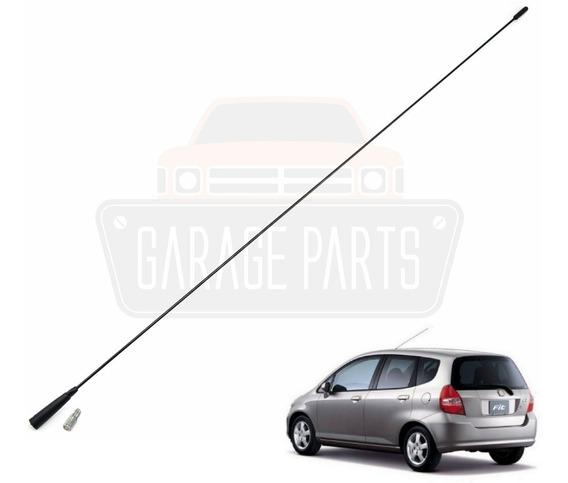 Haste Antena Dianteira Longa 78cm Para Honda Fit Até 2008