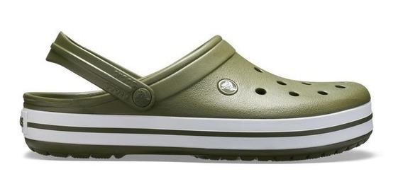 Crocs Crocband Unisex Adulto Verde Militar Original