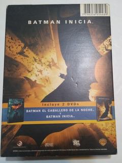 Boxset 2 Dvd. Batman Inicia - El Caballero De La Noche