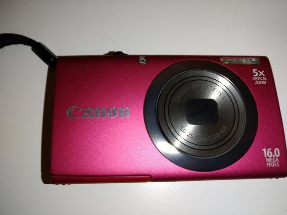 Câmera Canon Powershot A2300 + Cartão De Memória De 4 Gb