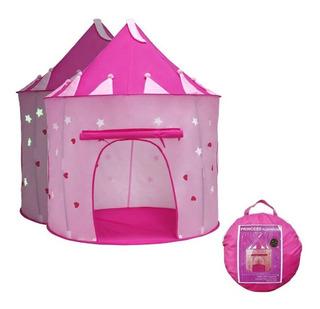 Tienda De Juegos Portátil Y Plegable Diseño Castillo P/niños