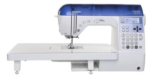 Máquina de coser Brother NX450Q  blanca y azul 220V