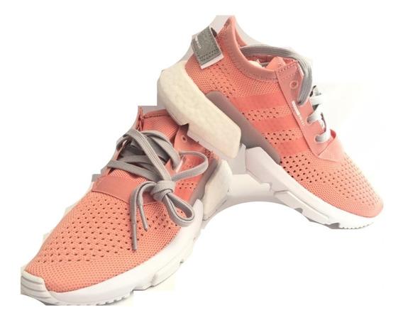 Tenis adidas Pod S3.1 Color Coral Nuevos Originales