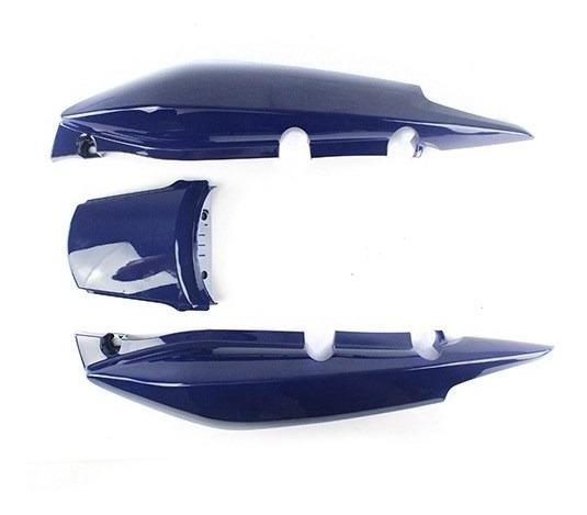 Rabeta Traseira Honda Fan125 2009-2010 Azul S/adesivo