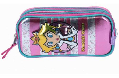 Estuche Super Mario Peach Metalico Chenson