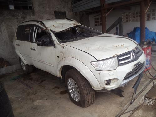 Sucata Pajero Dakar 3.2 Diesel 2013 Para Retirada De Peças