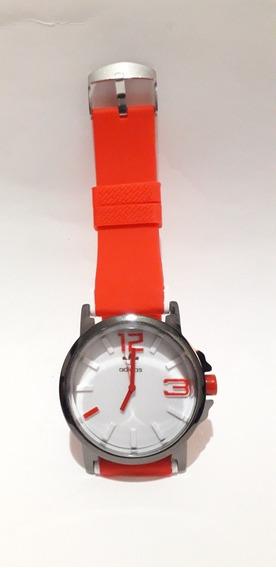 Relógio adidas Vermelho Unissex Pulseira Silicone