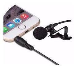 Micrófono De Solapa De Corbata Para Periodistas