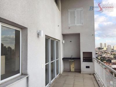 Cobertura Duplex Residencial À Venda, Jardim Anália Franco, São Paulo. - Co0066