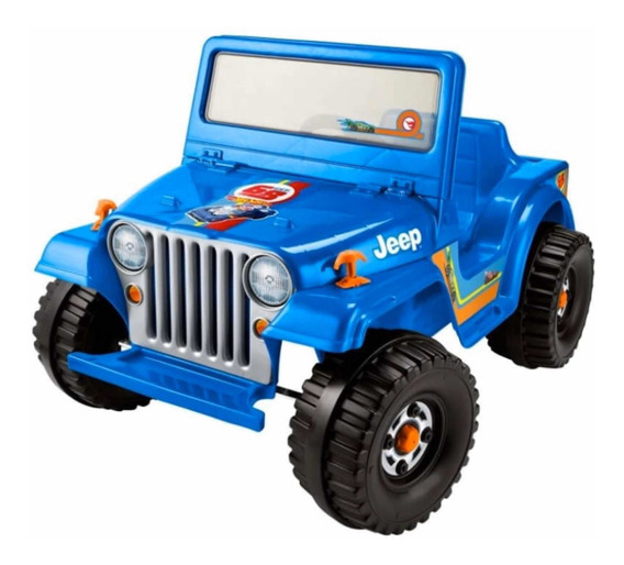 Power Wheels Jeep Wrangler Eléctrico Hot Wheels Fisher Price