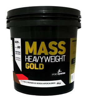Massa Heavyweigt Gold Morango 4kg Sports Nutrition