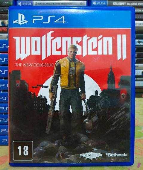 Wolfenstein 2 The New Colossus Em Português Ps4 Midia Fisica