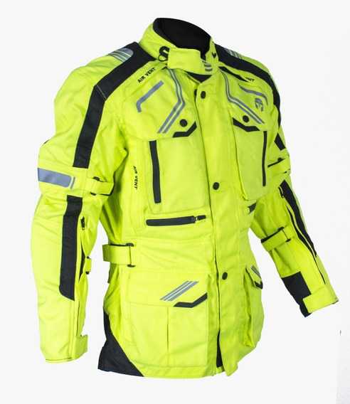 Chamarra Immortale Dama Adventurer Hi-viz Rider One